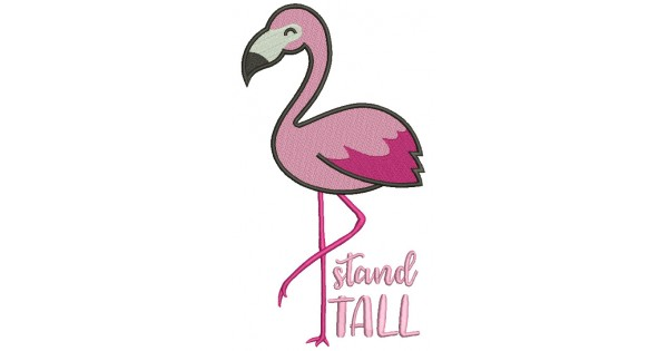 Image result for flamingo clip art stand tall