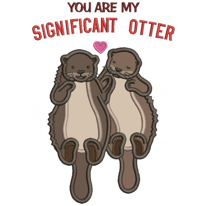 Otter Embroidery Designs