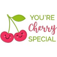 You're Cherry Special Applique Machine Embroidery Design Digitized Pattern