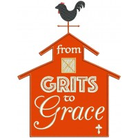 From Grits To Grace Southern Barn Applique Machine Embroidery Design Digitized Pattern