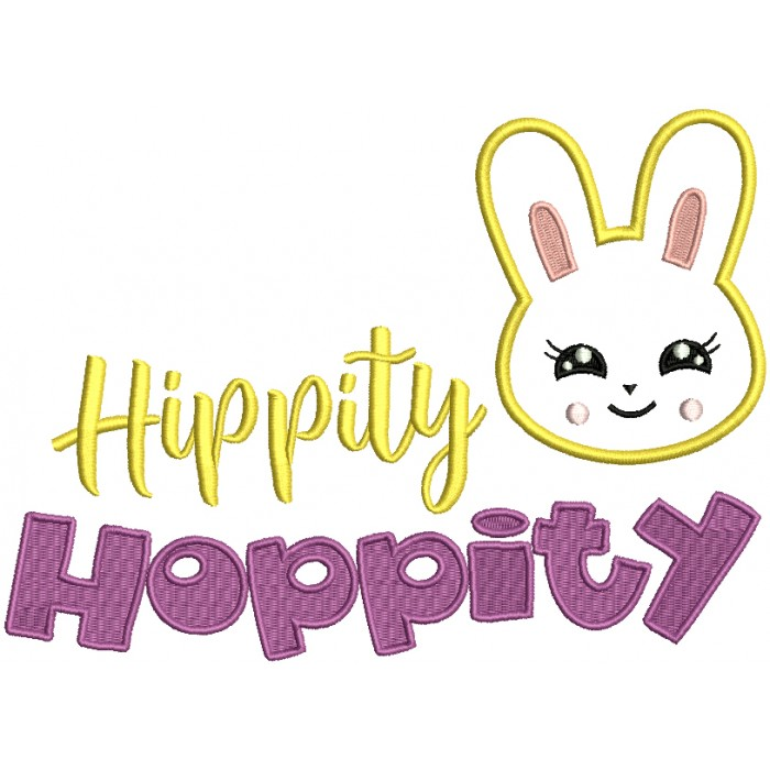 Hippity Hoppity Easter Bunny Applique Machine Embroidery Design Digitized Pickledchungus published september 14, 2020 42 views. hippity hoppity easter bunny applique machine embroidery design digitized
