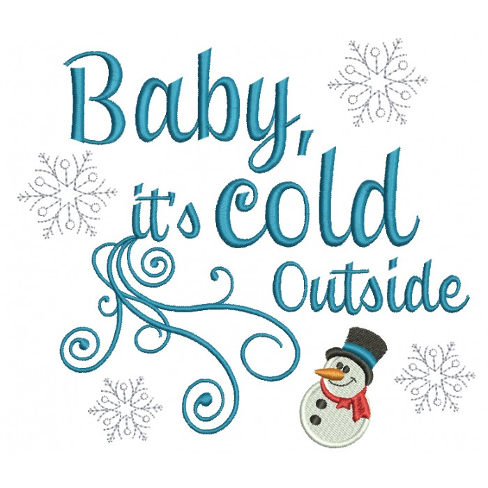 Image result for baby it's cold outside