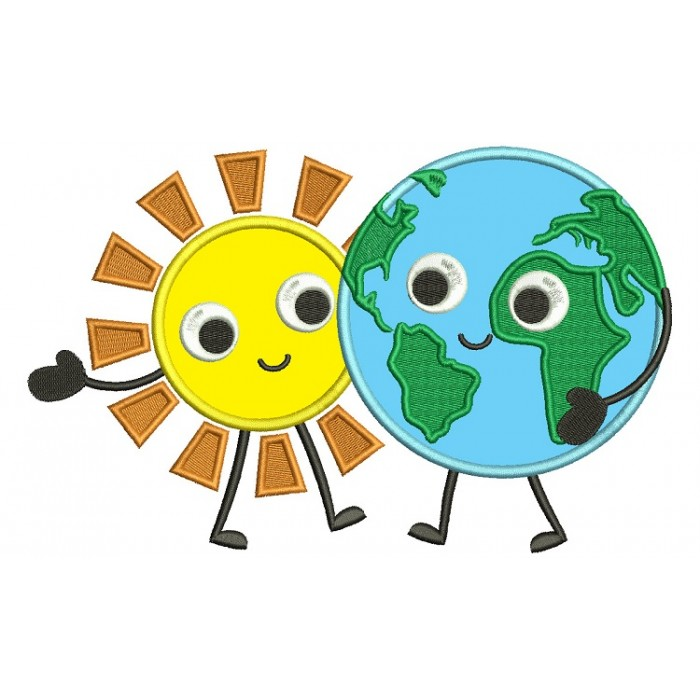 Eearth globe map of the world holding hands with sun applique eearth globe map of the world holding hands with sun applique machine embroidery digitized design pattern gumiabroncs Image collections