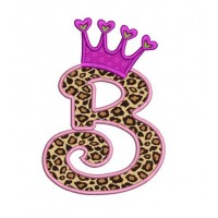 Crown Applique Machine Embroidery Font
