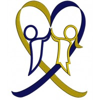 Down Syndrome Kids Heart Applique Machine Embroidery Digitized Design Pattern