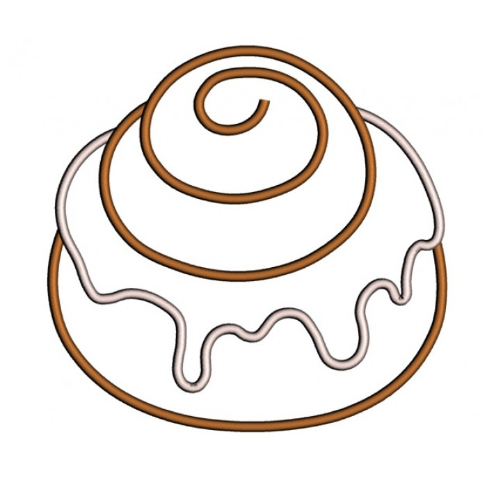 Gallery For gt Cinnamon Roll Coloring Page