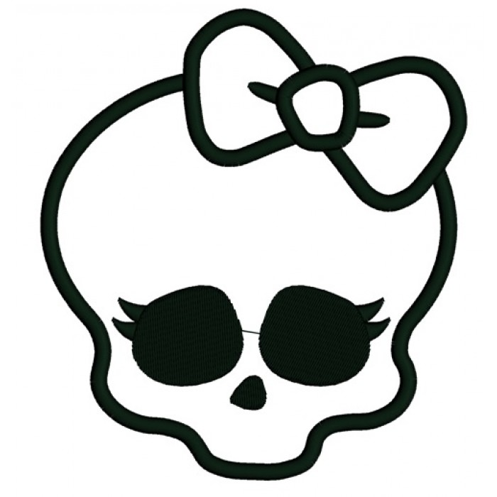 Monster High Skull Template Related Keywords amp Suggestions