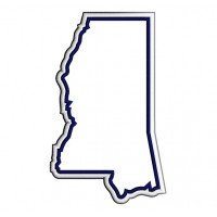 Mississippi Applique State Machine Embroidery Filled Digitized Design Pattern