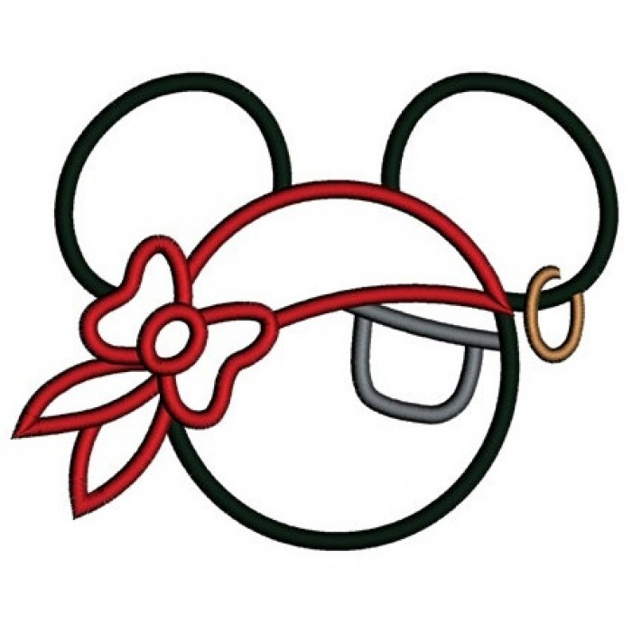 Gallery For gt Pirate Mickey Mouse Ears Template