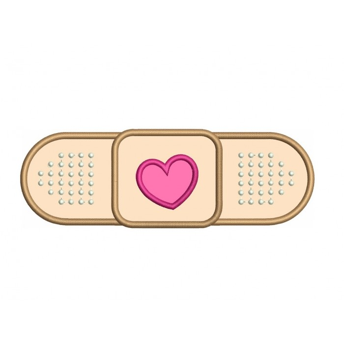 Band Aid for Doc McStuffins Medical Applique Digitized Machine Embroidery Design Digitized Pattern