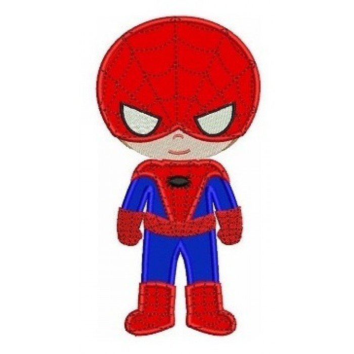 Looks like Spider Man Applique (hands out) Machine Embroidery Digitized Designs Pattern - Instant Download fits 4x4 , 5x7, and 6x10 hoops
