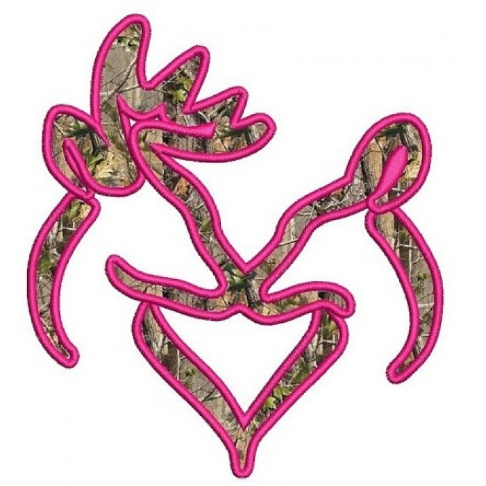 Buck and doe heart kissing applique machine embroidery digitized design pattern - Instant Download -4x4 , 5x7, and 6x10 hoops