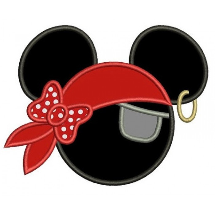 Pirate Mickey Mouse Ears Template Looks Like
