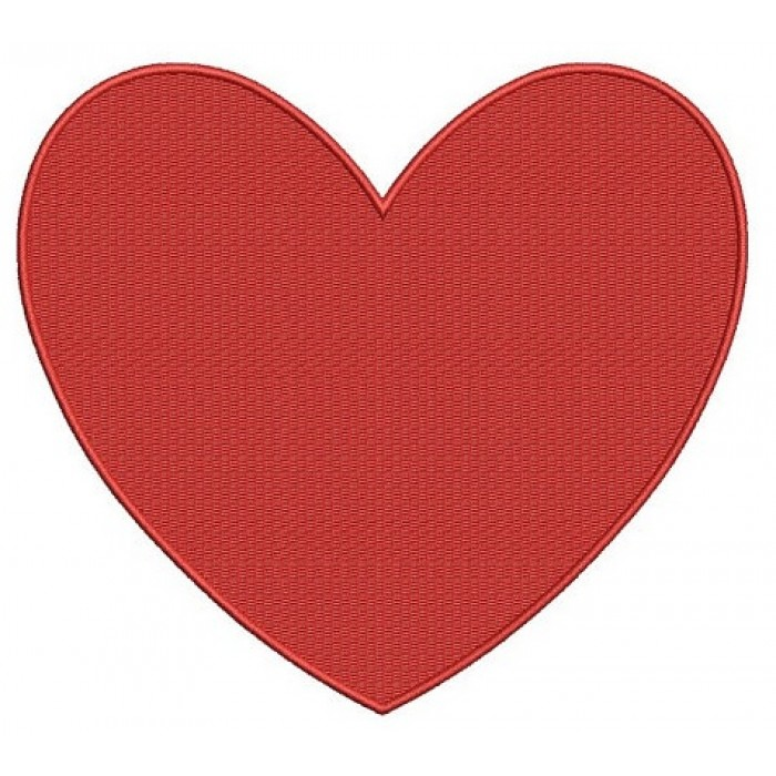 Heart Machine Embroidery Digitized Design Filled Pattern - Instant Download - 4x4 , 5x7, 6x10