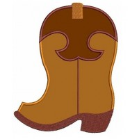 Cowboy Boot Applique Western Machine Embroidery Digitized Design Pattern - Instant Download - 4x4 , 5x7, and 6x10 -hoops