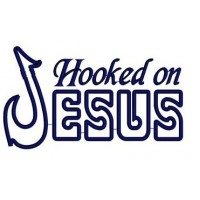 Hooked on Jesus Applique Machine Embroidery Digitized Design Pattern - Instant Download - 4x4 , 5x7, and 6x10 -hoops