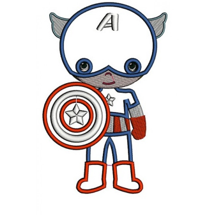 Instant Download Cute Captain America Little Brother