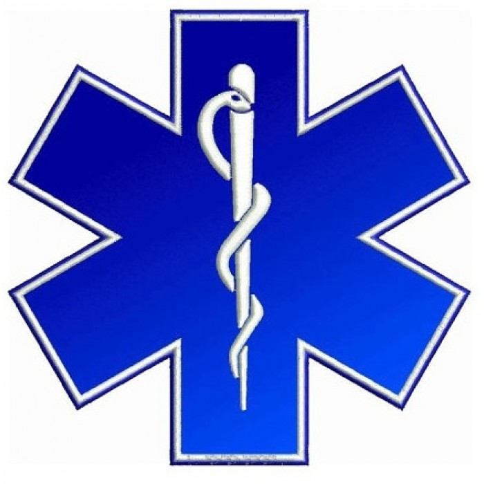 Star of Life medical EMS EMT paramedic medics Embroidery Applique - Instant Download Machine Design 4x4 , 5x7, 6x10 - Nurses, Doctors, LPn
